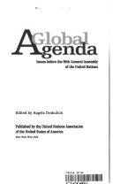 A Global Agenda