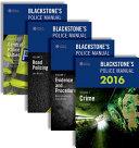 Blackstone s Police Manuals 2016