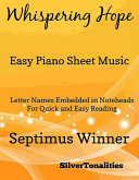 Whispering Hope Easy Piano Sheet Music