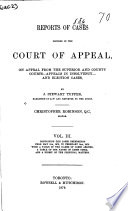 Ontario Appeal Reports
