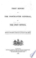 Report of the Postmaster General on the Post Office