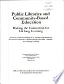 Public Libraries and Community-based Education