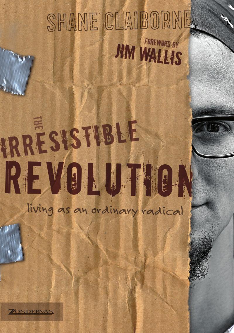 The Irresistible Revolution banner backdrop