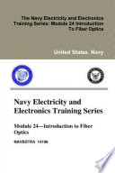 The Navy Electricity And Electronics Training Series Module 24 Introduction To Fiber Optics Book PDF