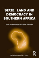 Pdf State, Land and Democracy in Southern Africa Telecharger