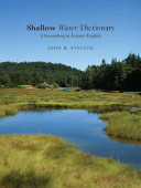 Shallow Water Dictionary