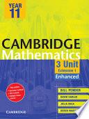 Cambridge 3 Unit Mathematics Year 11 Enhanced Version