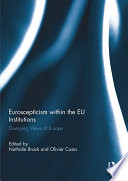 Euroscepticism within the EU Institutions