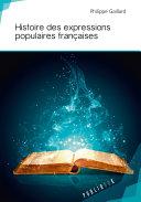 Pdf Histoire des expressions populaires françaises Telecharger