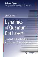 Dynamics of Quantum Dot Lasers