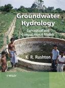 Pdf Groundwater Hydrology