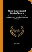 Three Generations Of English Women