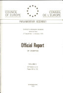 Official Report of Debates [Pdf/ePub] eBook