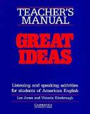 Great Ideas Teacher s Manual