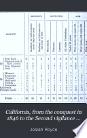 California  from the Conquest in 1846 to the Second Vigilance Committee in San Francisco  1856  Book PDF