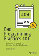Bad Programming Practices 101 Book