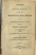 Pdf Report Upon the Plan of Construction of Several of the Principal Rail Roads in the Northern and Middle States