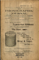 The Phonographic Journal