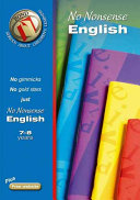 Bond No-Nonsense English 7-8 Years