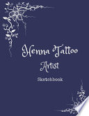 Henna Tattoo Artist Sketchbook