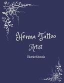 Henna Tattoo Artist Sketchbook