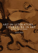 Pdf Art in Literature, Literature in Art in 19th Century France Telecharger