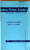 Lawrence Durrell Special Number