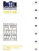 Big Ten Conference Records Book