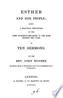 Esther and her people  sermons