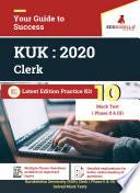 Kurukshetra University Kuk Clerk 2020 10 Mock Test Phase Ii Iii Latest Edition Practice Kit