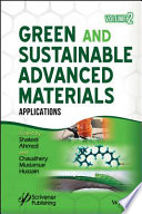 Green and Sustainable Advanced Materials Book