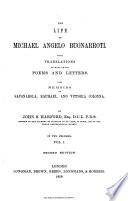 The Life of Michael Angelo Buonarroti  1