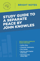 Study Guide to A Separate Peace by John Knowles [Pdf/ePub] eBook