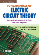 Fundamentals of Electric Circuit Theory