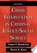 Crisis Intervention In Criminal Justice Social Service
