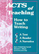 Acts Of Teaching Book PDF