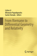 From Riemann to Differential Geometry and Relativity