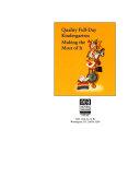 Quality Full day Kindergarten