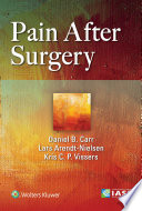 Pain After Surgery