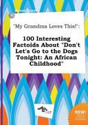 My Grandma Loves This  Book PDF