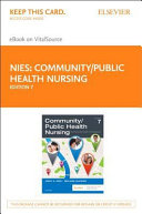 Community Public Health Nursing   Elsevier eBook on VitalSource  Retail Access Card