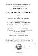 Teachers Guide To Child Development