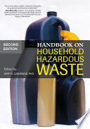 Handbook On Household Hazardous Waste Book PDF