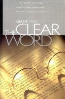 Clear Word Giant Print