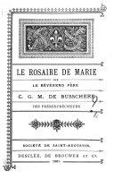 Le rosaire de Marie