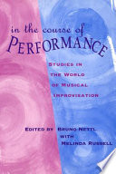 In the Course of Performance Book PDF