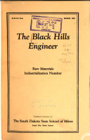The Black Hills Engineer ebook