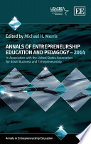 Annals of Entrepreneurship Education and Pedagogy _ 2014