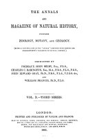 Pdf The annals and magazine of natural history, zoology, botany and geology