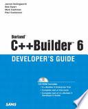 Borland C++ Builder 6 Developer's Guide
